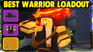 *NEW* WARRIOR LOADOUT IN THE CANALS UPDATE | Dungeon Quest (ROBLOX)