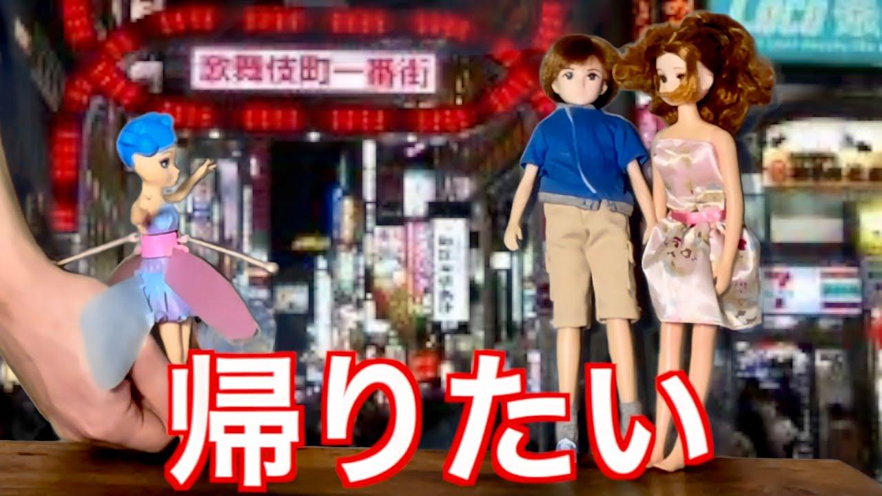 歌舞伎町に迷い込んだ妖精の末路がやばすぎたwwwwwww【ホス狂】