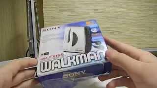 Кассетный плеер Sony walkman wm-fx195