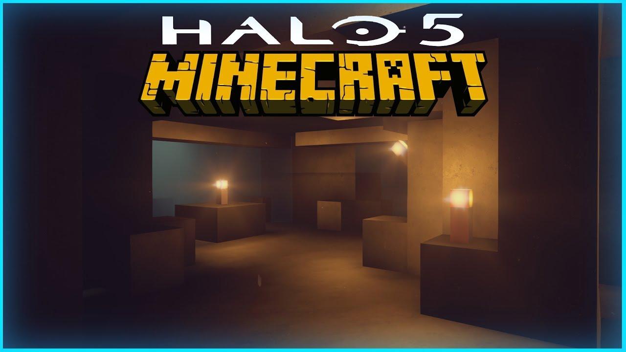 Minecraft World | Halo 5 Custom Forge Map