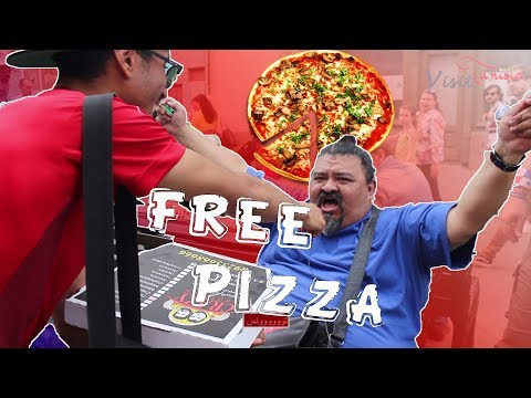 بيتزا بلَووشي في موسكو -  FREE PIZZA IN MOSCOW - WORLD CUP 2018