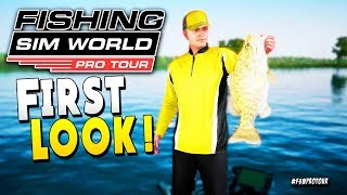 FIRST LOOK : First Time Fisher Wins Big Bass Tournament - Fishing Sim World Pro Tour