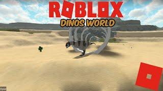 (Roblox Dinos World) NEW CLASSIC MAP! Lets explore!