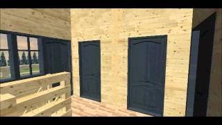Дом  7х9 с эркером и балконом, проект