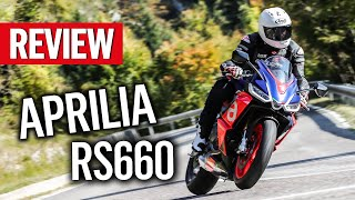 Aprilia have created a new kind of sportsbike with its new RS660! | MCN Reviews