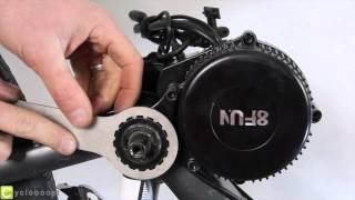 Comment installer un moteur pédalier 8Fun Bafang BBS sur son vélo - La minute de Sam 2