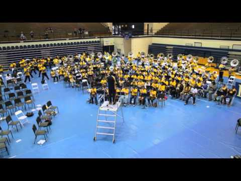 NC A&T Band Blowout - Piece of My Love (Gold Band) 4.30.2016