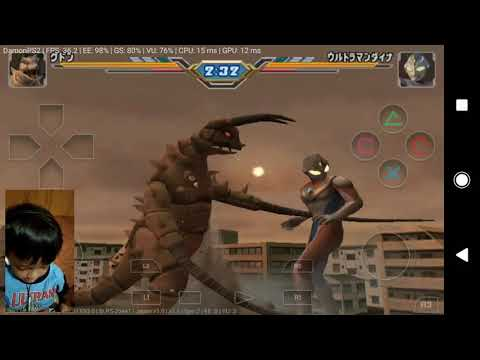 ULTRAMAN FIGHTING EVOLUTION 3 DI ANDROID SERU  !!! BOCIL