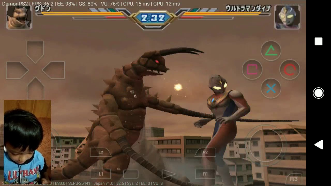 Ultraman Fighting Evolution 3 Di Android Seru Bocil Youtube