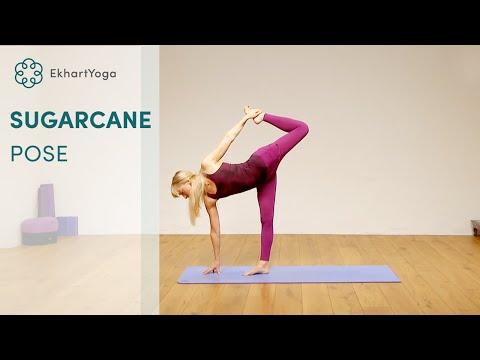 Half Moon to Sugarcane pose tutorial with Nichi Green