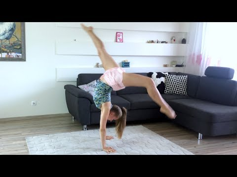HOW TO DO FRONT WALKOVER // Tutorial FOR BEGINNERS AT HOME 🤸‍♀️ Tips & Tricks To Stand Up