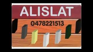 Alislat Cedar Wood Look Fence Slats