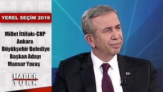 Yerel Seçim 2019 - 29 Mart 2019 (Millet İttifakı-CHP Ankara Büyükşehir Adayı Mansur Yavaş)