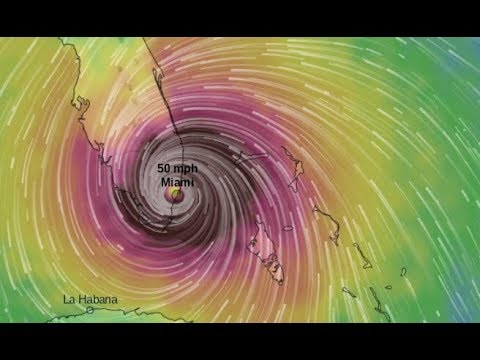 HURRICANE COULD HIT MIAMI AS A CAT. 5