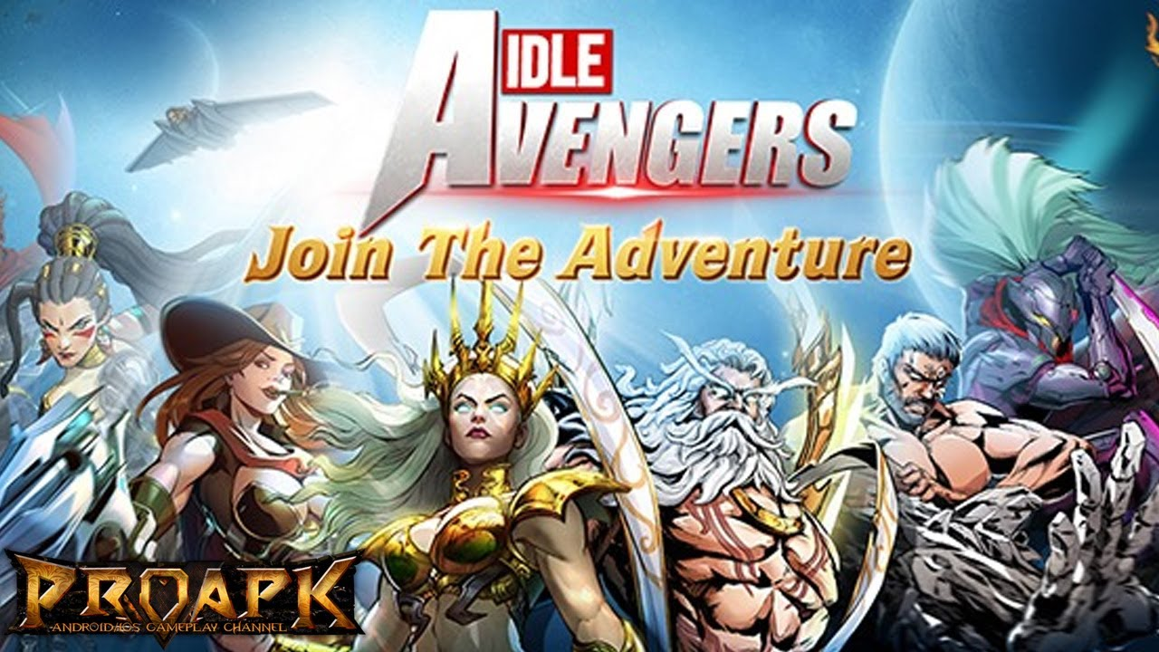 Idle Avengers: Future Wars Android Gameplay