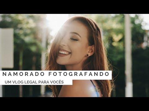 UM VLOG LEGAL ENSINANDO O NAMORADO A FOTOGRAFAR