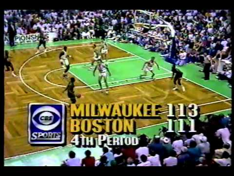 Boston Celtics, Milwaukee Bucks - NBA Playoffs - 5.17.87 - Johnny Most