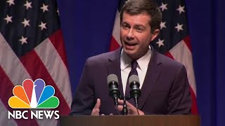 Watch Pete Buttigeig's First Speech On Foreign Policy And National Security | NBC News