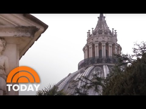 A Rare Look Inside The Sistine Chapel And Pope Francis' Special Easter Message | TODAY