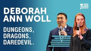 Deborah Ann Woll geeks out over Dungeons & Dragons | Andrew Yang | Yang Speaks
