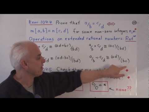 MathFoundations104: Rational number arithmetic with infinity and more