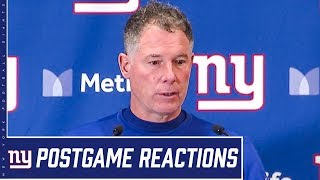"""Coach Pat Shurmur: """"We just have to do a better job all the way around""""   Giants vs. Cardinals"""