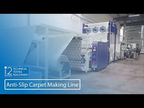 anti-slip coating on carpet video