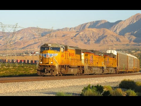Union Pacific Across the Desert - Palm Springs, CA