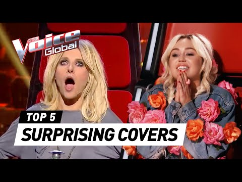 Thumbnail: The Voice | SUPRISING COVERS in The Blind Auditions [PART 3]
