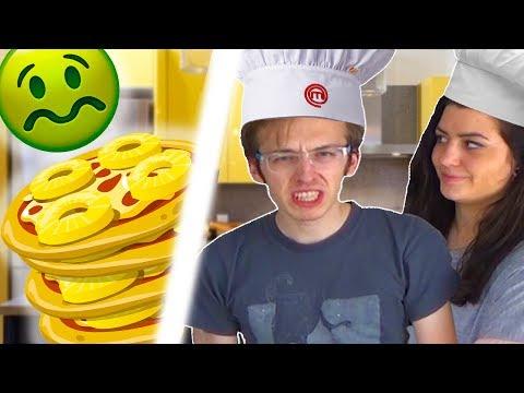 LA PIZZA PIÙ SCHIFOSA DI SEMPRE!!! [In Cucina Da Leo ] w/ Anna