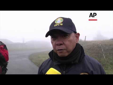 OPCW inspectors get hostile environment training