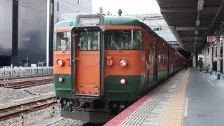 2018.04.04.115系D‐26編成下り列車(岡山駅)