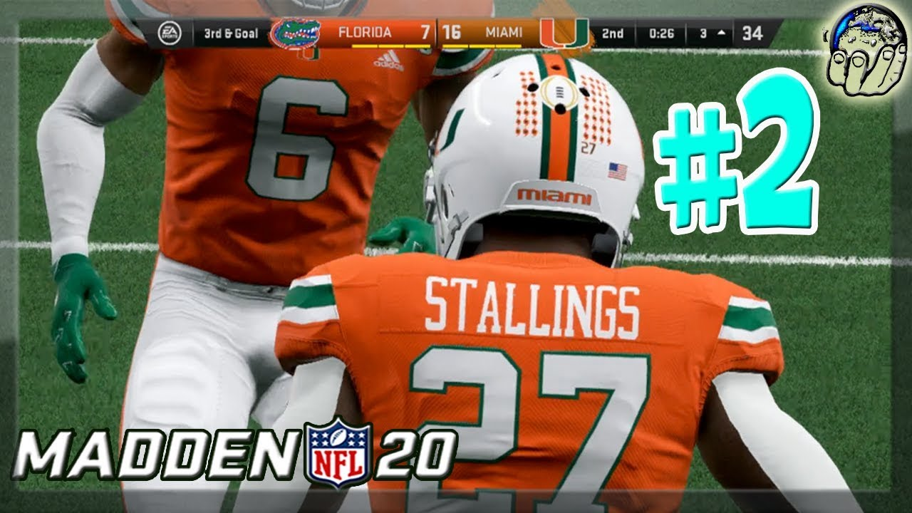 Madden 20 FACE OF THE FRANCHISE! NCAA College Football ...