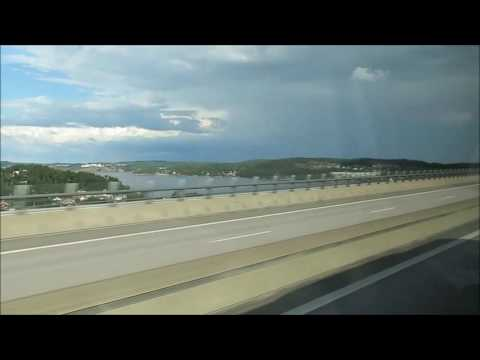Road trip from Oslo to Gothenburg 2016