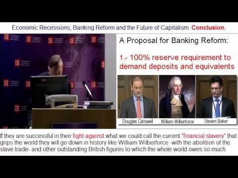 A Proposal for Banking Reform by Professor Huerta de Soto