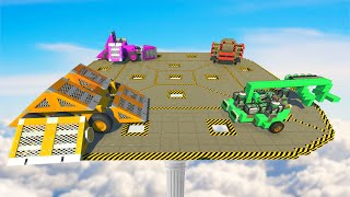 SKY PLATFORM SUMO DERBY! (Scrap Mechanic)