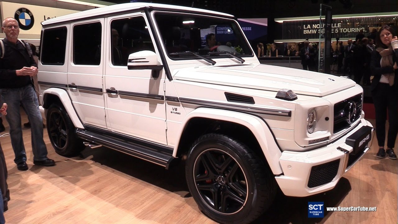 2017 Mercedes Amg G Cl G63 Exterior And Interior Walkaround Geneva Motor Show