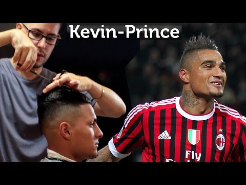 Kevin-Prince Boateng Hair ★ Professional Men's hairstyling videos