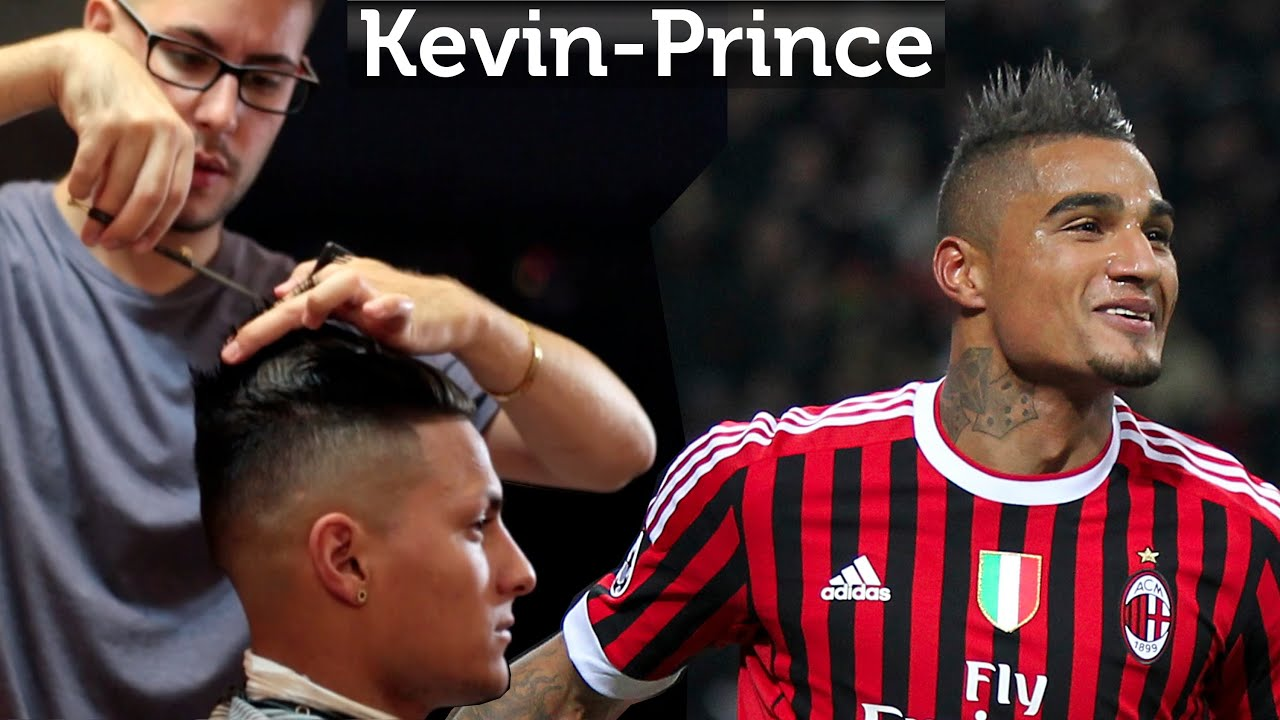 kevin-prince boateng hair - professional men's hairstyling videos
