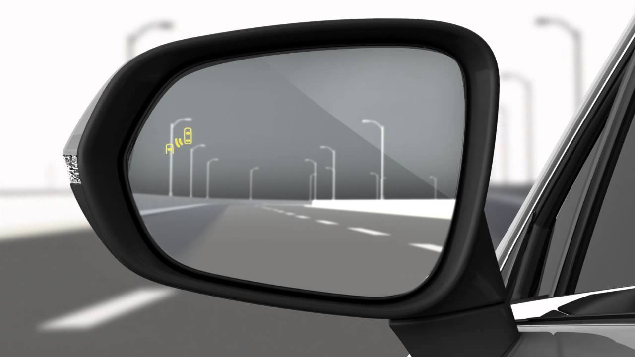 Blind Spot Monitor With Rear Cross Traffic Alert Youtube