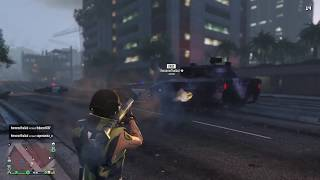 GTA ONLINE - TEACHING ANOTHER CREW A LESSON