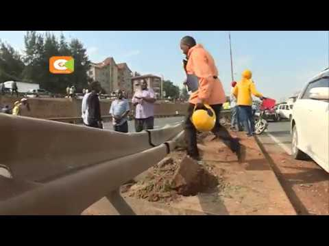 Eight people killed in Thika Super Highway accident