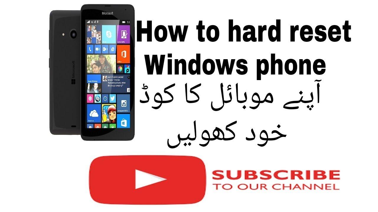 How to Hard Reset Lumia 640 or ANY Windows Phone - Thủ thuật máy