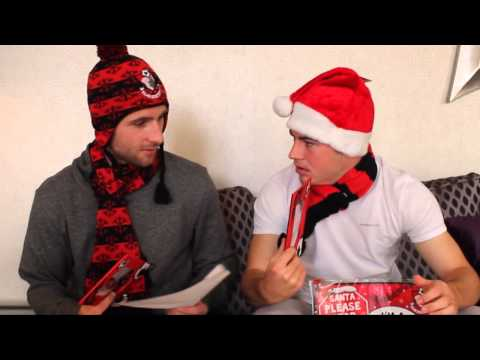 Junior Cherries | Marc Pugh & Ryan Fraser invite you to the Christmas party