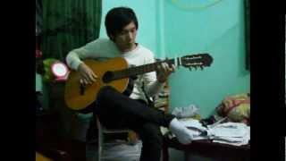MV HD Nguoi Ay Trinh Thang Binh Guitar cover by Huy Vu