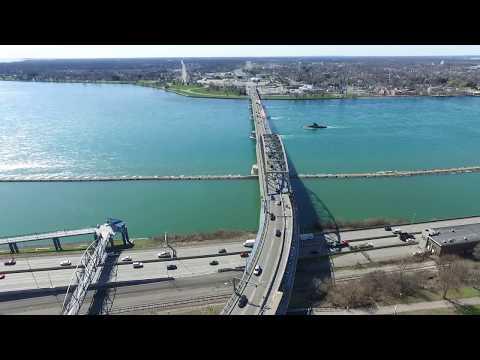 Peace Bridge - Buffalo, N.Y. And Fort Erie, Ontario - 360