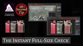 60 Second Tip: The Instant Full-Size Check