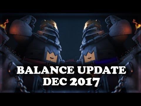 Balance Update December 2017 | Clash Royale 🍊
