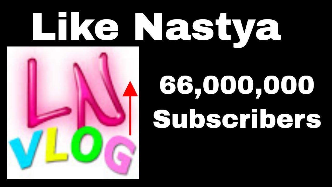 Like Nastya Hits 66 Million Subscribers! | GsmithTV