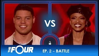 James vs Sharaya J: A BRUTAL Rap Battle Between Two Gladiators! | S2E2 | The Four